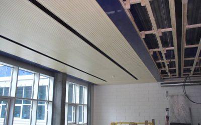 Plafond suspendu (acoustique)